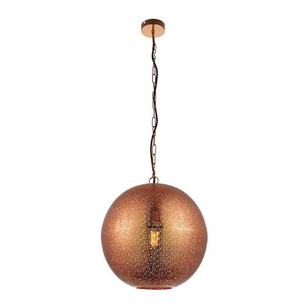 Abu Pendant in Copper Finish