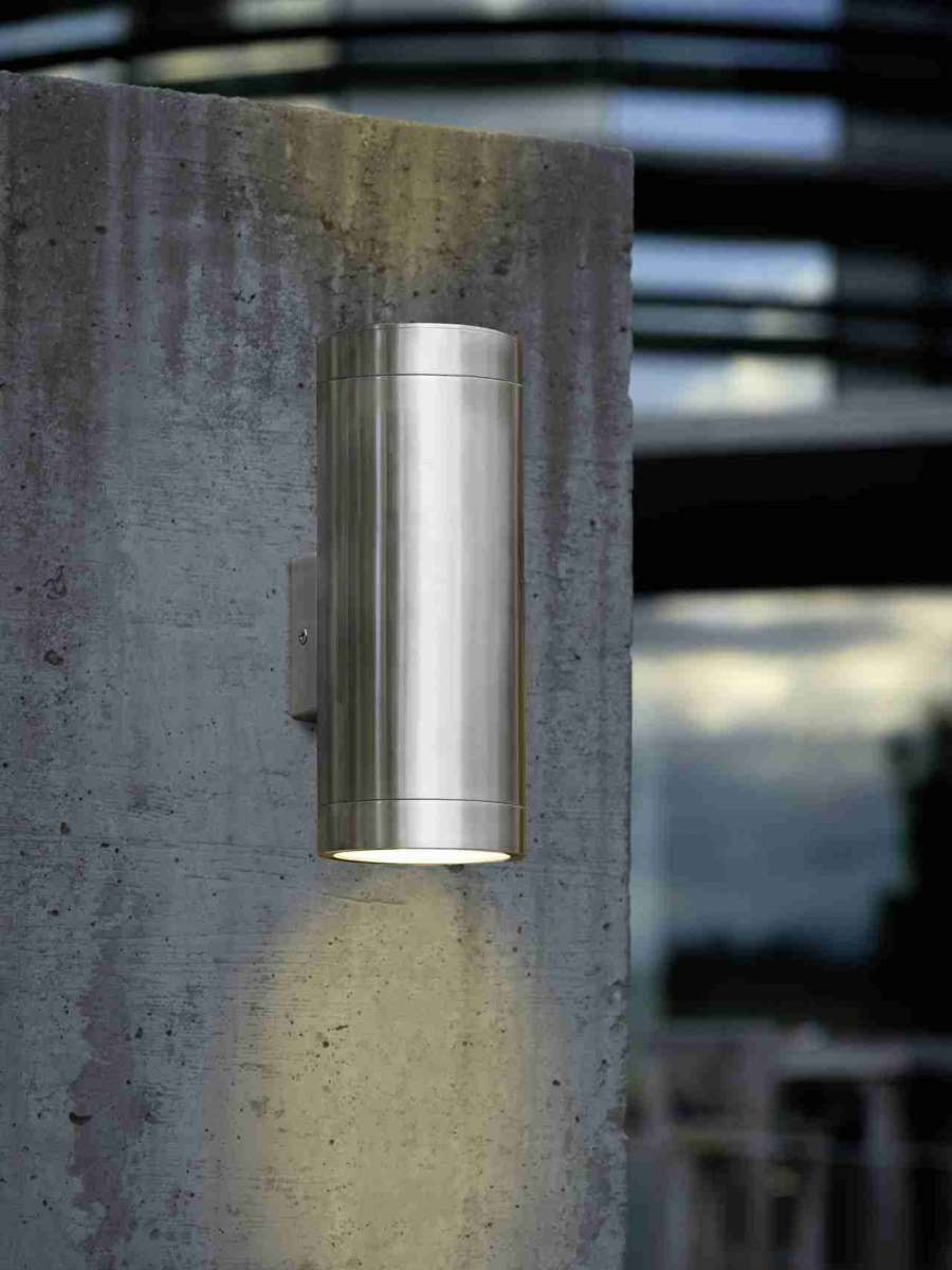 Eglo 90121 Ascoli Exterior Up And Down Ip44 Stainless
