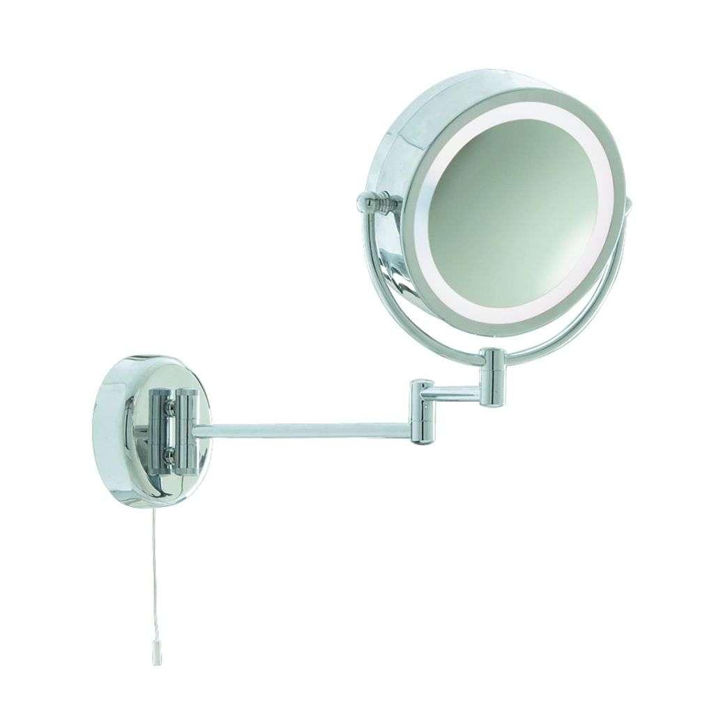 Searchlight 11824 Bathroom Illuminated Mirror - Chrome Extendable ...