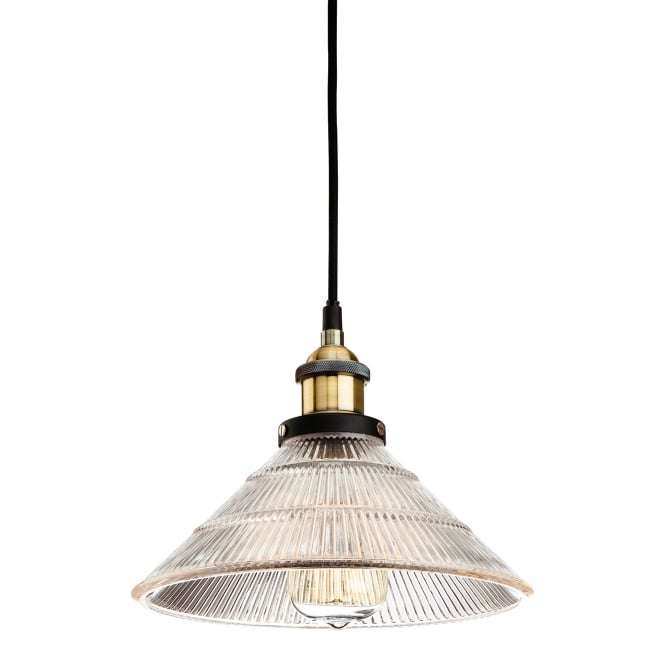 Firstlight American Traditional Vintage Bronze Hanging Pendant Light