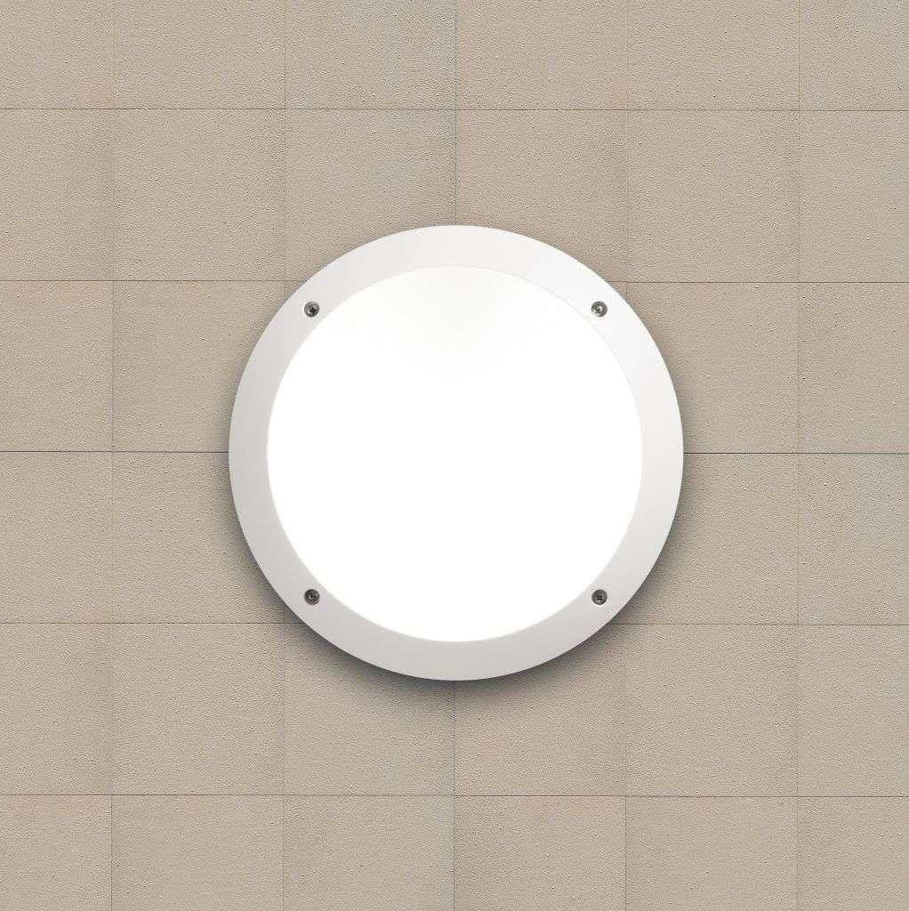 Lucia LED Fumagalli Wall & Ceiling Bulkhead White | Online Lighting Shop