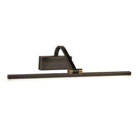 12W Led Picture Light 51 cm Black Brushed Gold