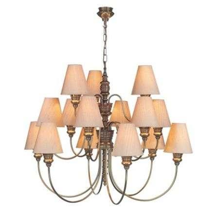 15 Light Pendant Bronze