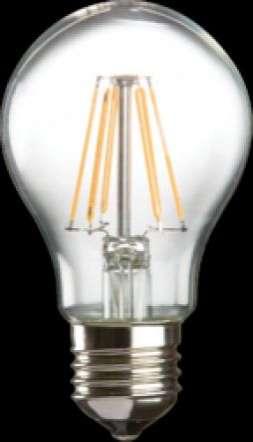 230V 8W LED 60mm ES Clear GLS 3000K