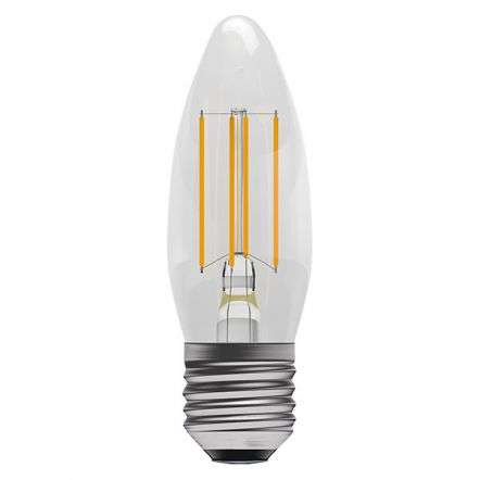 4W LED Filament Candle ES Clear 2700K