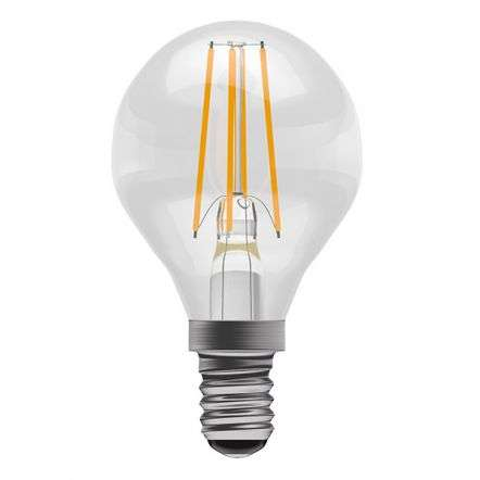 4W LED Filament Round SES Clear 2700K