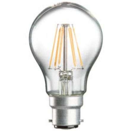 6W LED 60mm GLS BC Classic Household Lamp   Online Lighting Shop