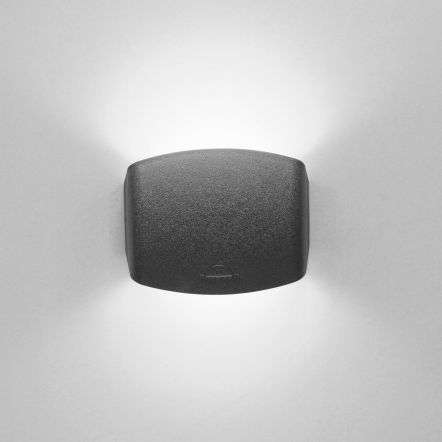 Abram 150 4W Up and Down LED Wall Light Black
