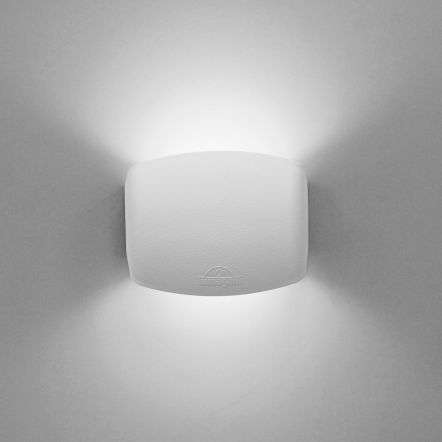 Abram 150 4W Up and Down LED Wall Light White
