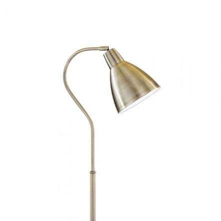Adjustable Floor Lamp Antique Brass 5206AB