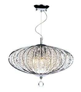 Adriatic 5-Light Polished Chrome Pendant