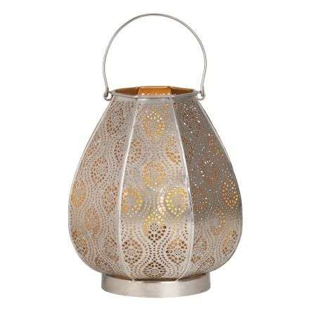Alida Table Lamp Nickel & Gold