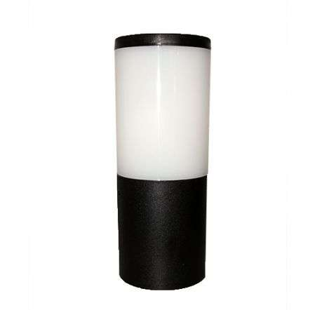 Amelia 250mm Black Opal LED 6W Bollard Post Light