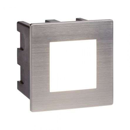 Ankle Stainless Steel 3.5W Led Indoor/Outdoor Recessed Square Small