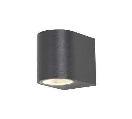 Antar Up and Down Wall Light in Black Finish