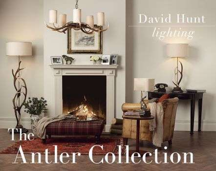 Antler 6 Light Highland Rustic Fitting