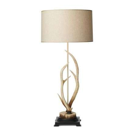 Antler Highland Bleached Large Table Lamp Complete w Shade