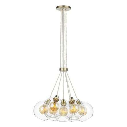 Apollo 7 Light Pendant Butter Brass
