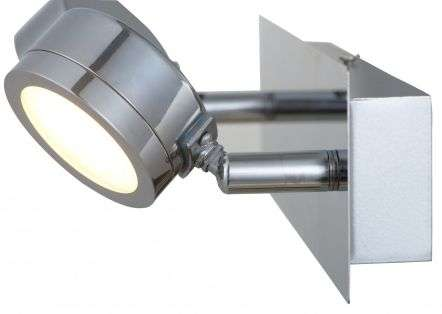 Aqua 2 Light Bathroom Wall Light Polished Chrome IP44