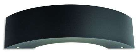 Arch LED Curved Wall Light in Graphite Finish