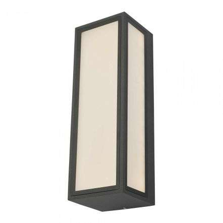 Arham 1 Light Wall Light Anthracite IP65 LED