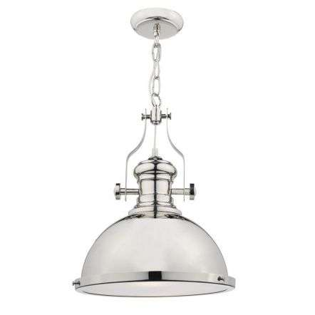 ARONA 1LT PENDANT POLISHED CHROME