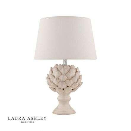 Artichoke 1 Light Ceramic Table Lamp with Shade