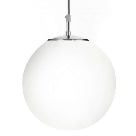 Atom 10  Opal Ball/Satin Silver Susp