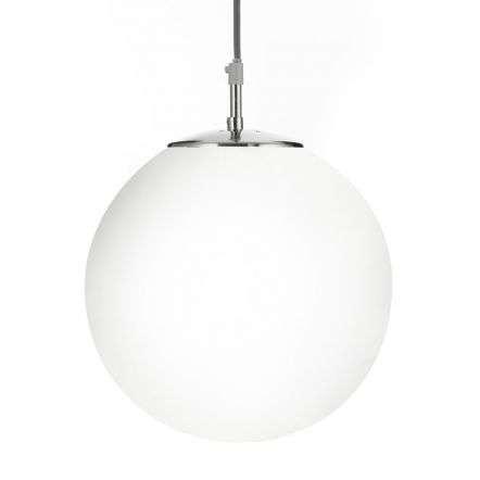 Atom 12  Shiny Opal Ball/Satin Silver Suspension