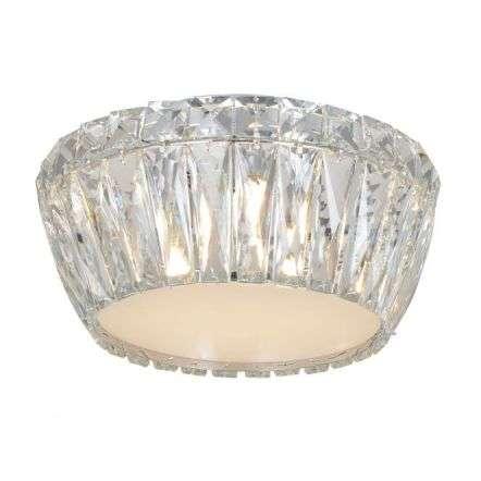 Aurora 3 Light Crystal Flush Light