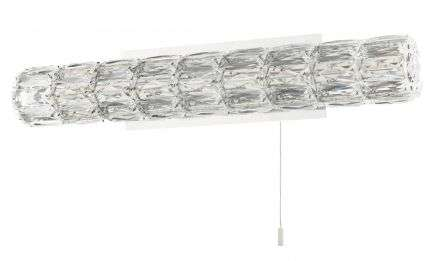 Aurora LED Crystal Bathroom Wall Light IP44