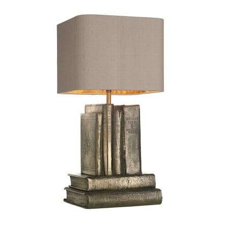 Author Bronze Table Lamp