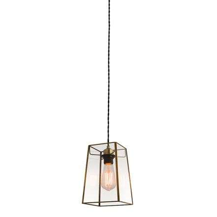 Beaumont Non Electric 60W Pendant Clear Glass