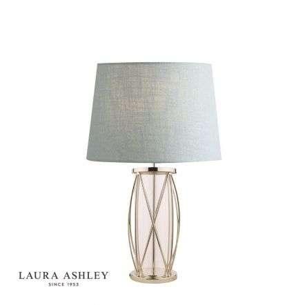 Beckworth Polished Nickel Lattice Table Lamp Base Large