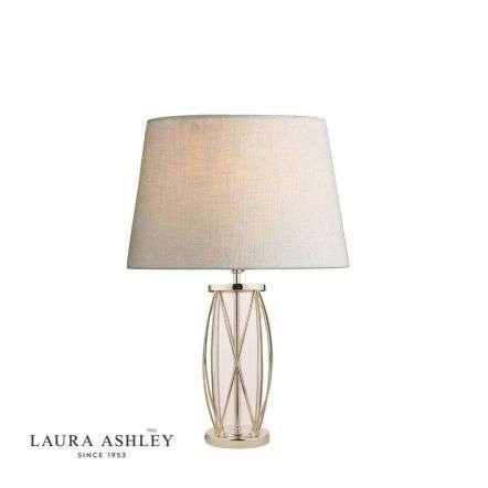 Beckworth Polished Nickel Lattice Table Lamp Base Small