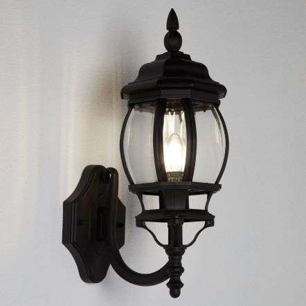 Bel Aire E27 Outdoor Upturned Wall Lantern