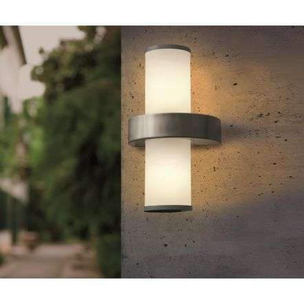 Beverly 2 Light Modern Outdoor Wall Light IP44
