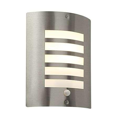 Bianco PIR 1lt wall IP44 60W