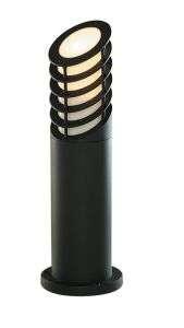 Black Aluminium Outdoor Bollard Light