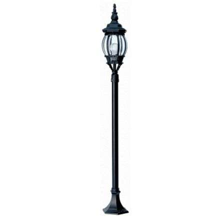 Black Duralighting Non Rust Tall Post Light