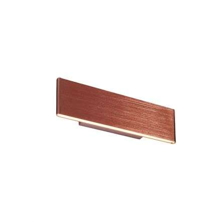Bodhi Brushed Copper Wall Light 285mm 5.5W Warm White