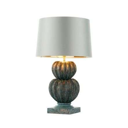 Botany Verdigris Table Lamp