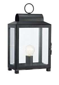 Box 1-Light Black Table Lamp