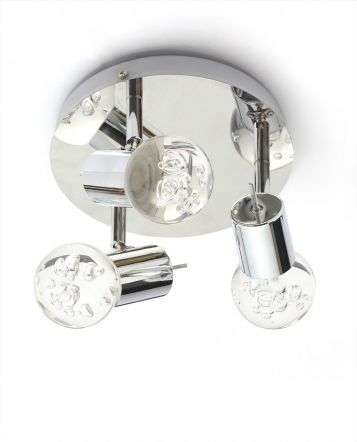 Bubble 3 LED Bathroom IP44 Spotlight