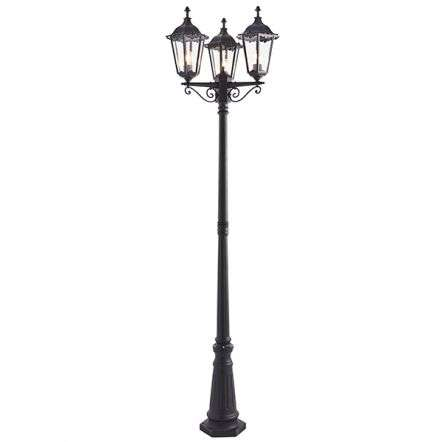 Burford Triple Lamp Post IP44