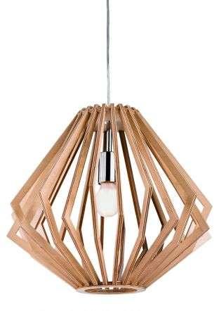 Cadiz Wooden Pendant