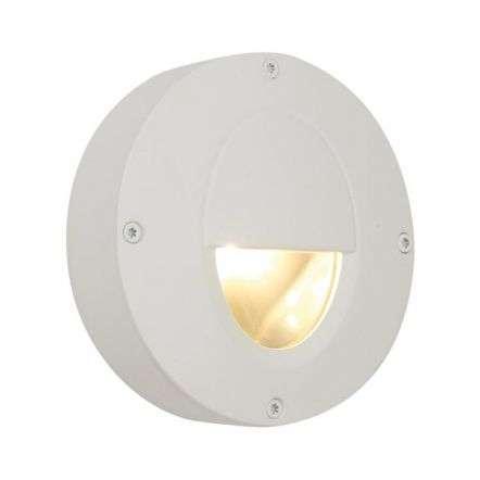 Callisto AC LED IP65 Low Level Die Cast White Wall Light