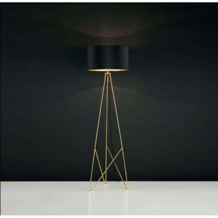 Camporale 1 Light Floor Lamp Gold
