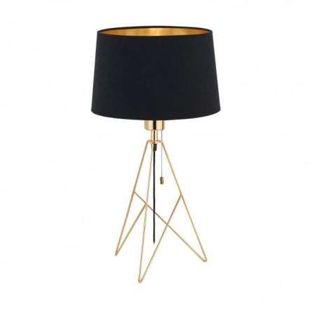 Camporale 1 Light Table Lamp Gold