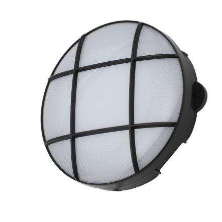 Capella Large Circular Grid Bulkhead IP65